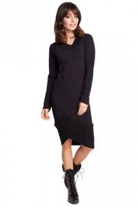 B007 sukienka czarna