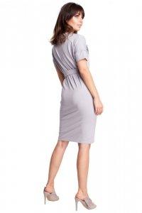 B010 sukienka szara