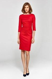 Sukienka cs19 - czerwony - CS19