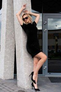 Marensa Black 1712 sukienka