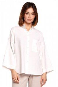 B191 Koszula oversize - biała