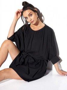 1 Sukienka  L325 czarny PROMO