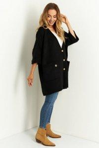 Sweter LS342 czarny