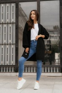 Sweter LS354 czarny