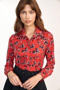 Koszula w kwiatowy wzór - K60
