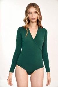 Zielona bluzka body - B137
