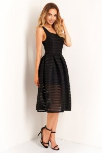 1 Sukienka L398 czarny PROMO