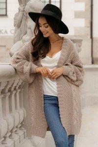 Sweter LS353 latte