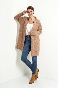 Sweter LS313 capucino