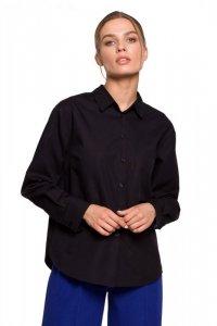 S276 Koszula klasyczna - czarna