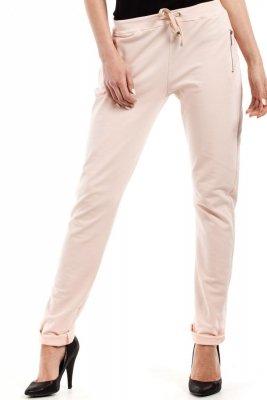 MOE208 spodnie brzoskwiniowe