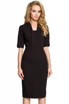 M310 Sukienka czarna