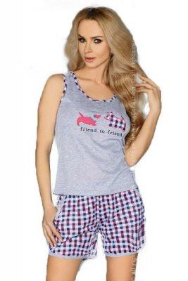 MODEL 720 PINK piżama