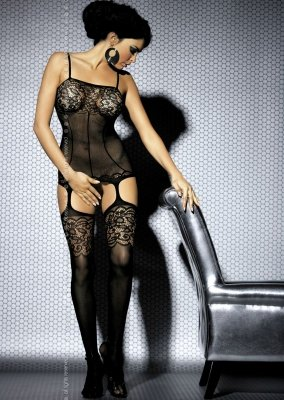 1 Bodystocking F204 black