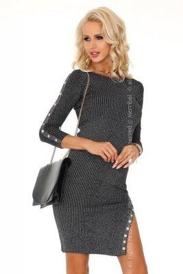 Dechenn Grey FZ1744 sukienka