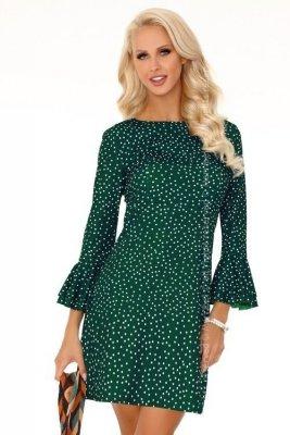 Fortunata Dark Green FZ1742 sukienka