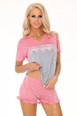 Glennis LC 90456 piżama groszki