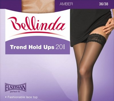 1 Beauty Trend Hold Ups BE260253 pończochy 20 den