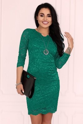 Merribel 10391D Green sukienka