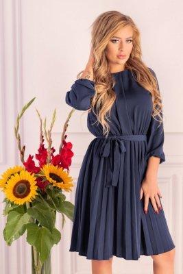 Messina Dark Blue D40 sukienka