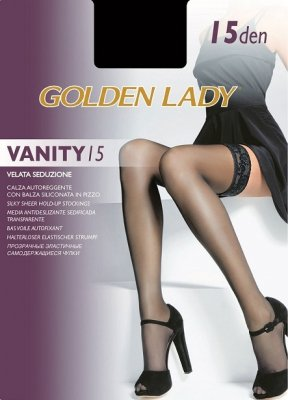 POŃCZOCHY GOLDEN LADY VANITY 15