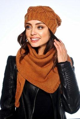 1 LC110 czapka i szalik o kroju chusty PROMO