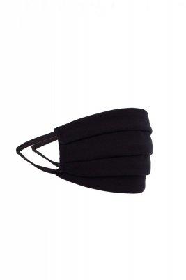 Maseczka odzieżowa 1 czarna