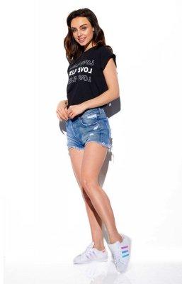 T-shirt Self love LG525 czarny