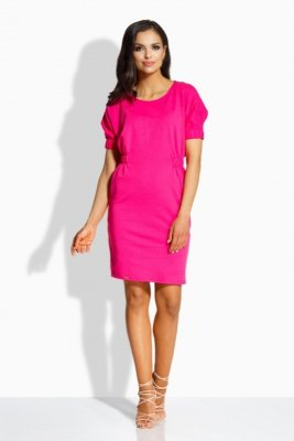 1 L206  sukienka fuksja PROMO