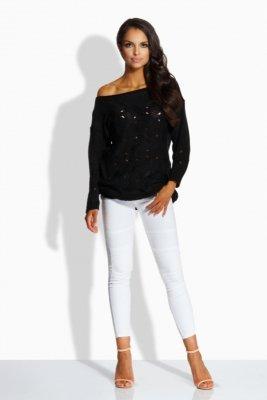 1 LS191 Sweter czarny PROMO