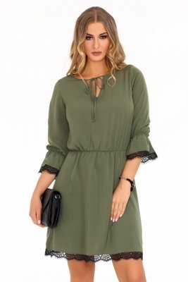 Shanice Khaki 85495 sukienka