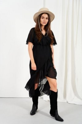 Sukienka L330 czarny