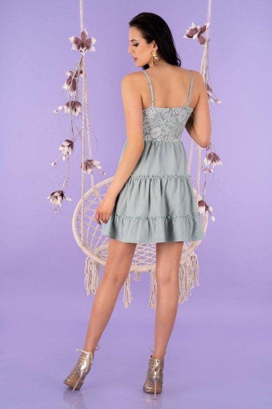 Satrian Mint D53 sukienka