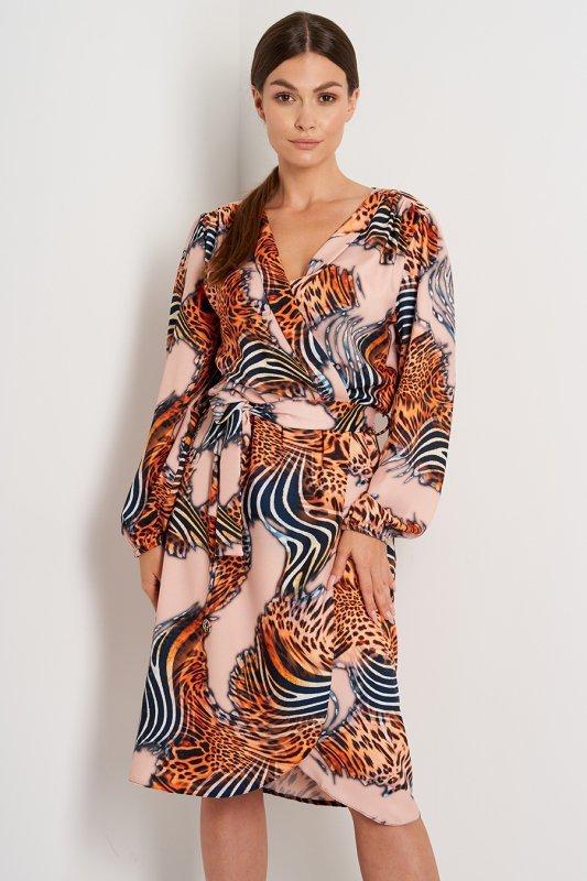 Sukienka L390 druk 11