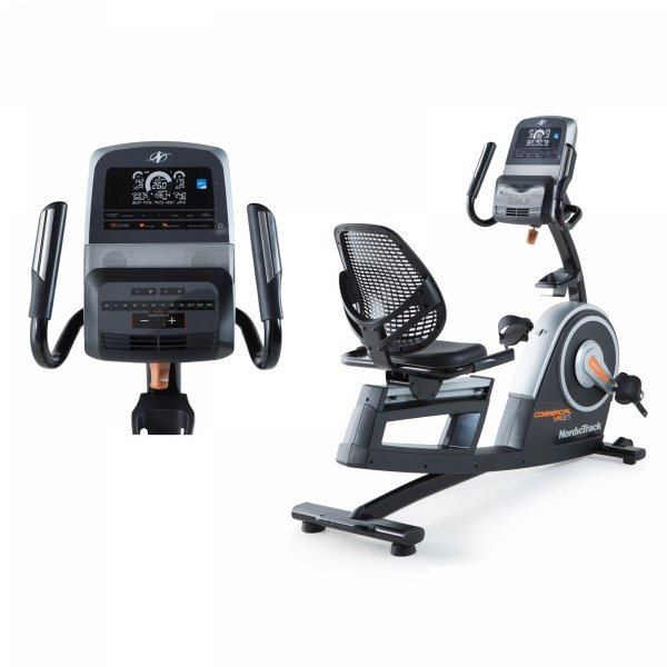 Rower Poziomy Programowany Commercial VR 21 + członkostwo + opaska