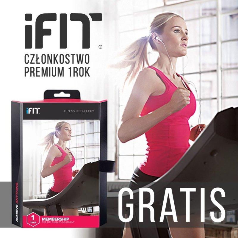 Bieżnia Elektryczna NordicTrack Commercial 1750 + Roczne członkostwo iFit