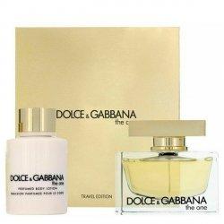 Dolce & Gabbana The One Set - EDP 75 ml + BL 100 ml