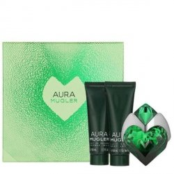 Thierry Mugler Aura Zestaw - EDP 50 ml + BL 50 ml + SG 50 ml