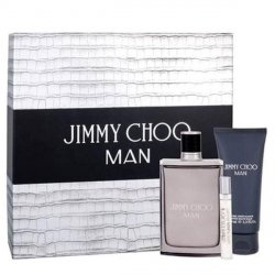 Jimmy Choo Man Zestaw - EDT 100 ml + EDT 7.5 ml + ASB 100 ml