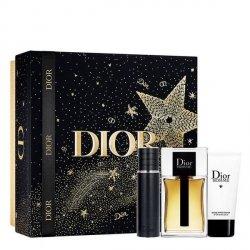 Christian Dior Homme 2020 Zestaw - EDT 100 ml + EDT 10 ml + SG 50 ml