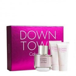 Calvin Klein Downtown Zestaw - EDP 90 ml + BL 100 ml + SG 100 ml