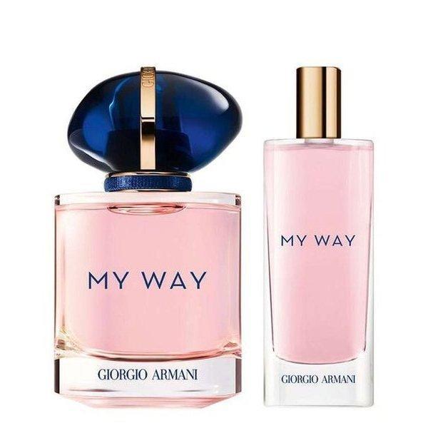 Giorgio Armani My Way Set - Eau de Parfum 50 ml + Eau de Parfum 15 ml