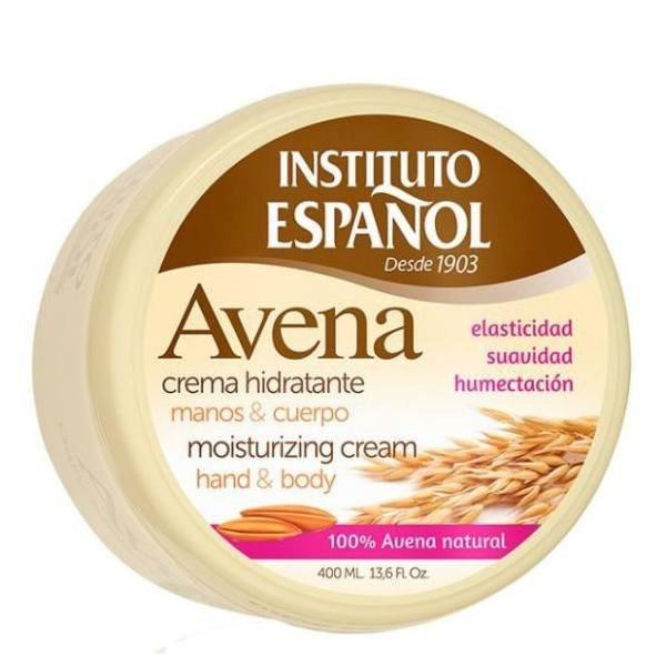 Instituto Espanol Avena Oats Moisturizing Cream 400 ml