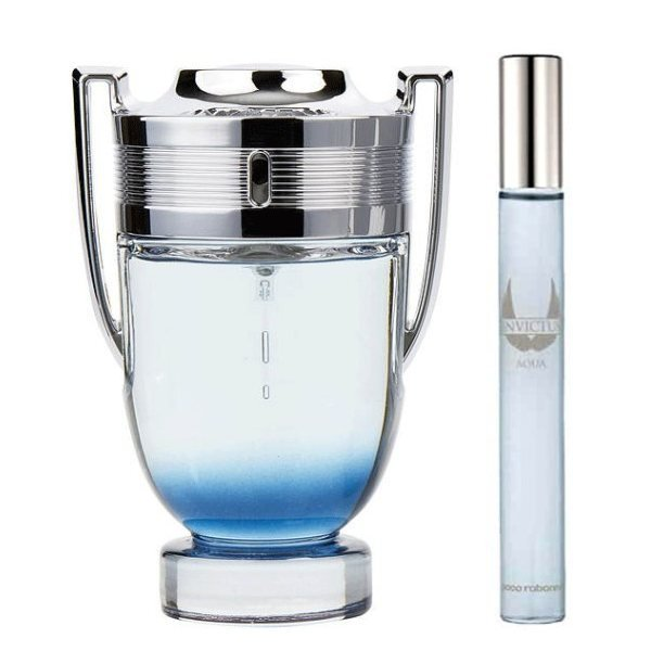 Paco Rabanne Invictus Aqua Set - Eau de Toilette 100 ml + Eau de Toilette 10 ml