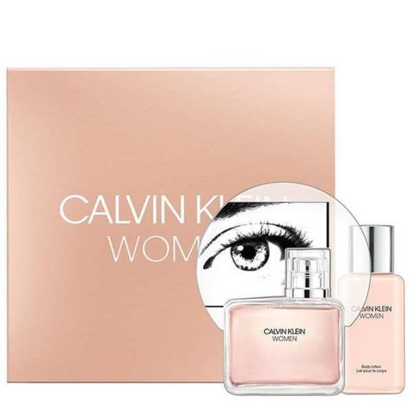 Calvin Klein Woman Set - Eau de Parfum 100 ml + Body Lotion 100 ml