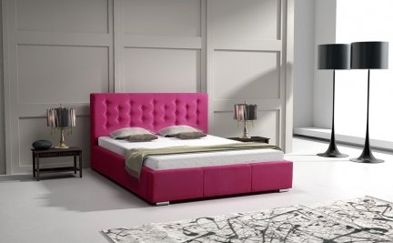 Cross 80; 90; 100; 120; 140; 160; 180 cm | UPHOLSTERED BED FRAMES