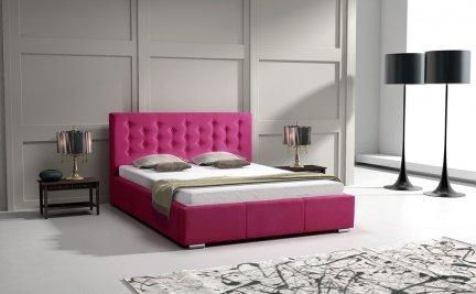 Cross 80; 90; 100; 120; 140; 160; 180 cm | UPHOLSTERED BED FRAMES