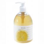Eco Cosmetics Mydło w płynie  Z CYTRYNĄ z dozownikiem 300 ml