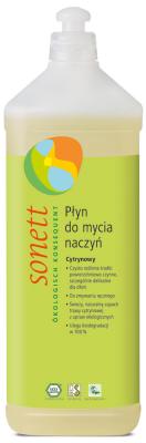 D024 Płyn do mycia naczyń CYTRYNOWY 1 litr