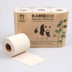 ZUZII Bambusowy papier toaletowy